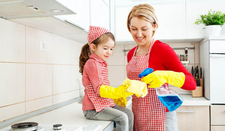 Kitchen spring cleaning guide